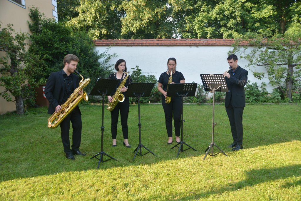 Musikalische Umrahmung Landkreisfest Oberschönenfeld